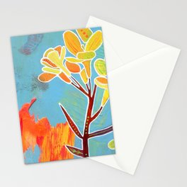 Western Wallflower Stationery Cards
