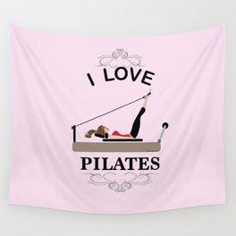 I love pilates Wall Tapestry