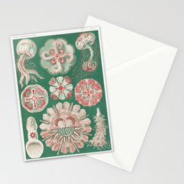 Marine organisms by Ernst Haeckel Stationery Cards