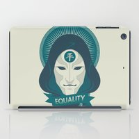 equality iPad Cases featuring EQUALITY by Akiwa