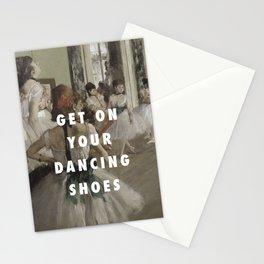 La Classe de Chaussures Stationery Cards