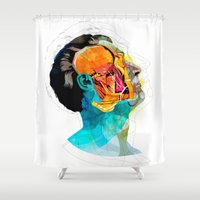 anatomy Shower Curtains featuring Anatomy [Ellis+Ford] by Alvaro Tapia Hidalgo