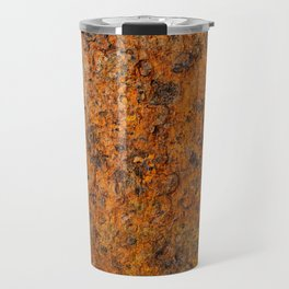 Old and rusty metal surface Travel Mug