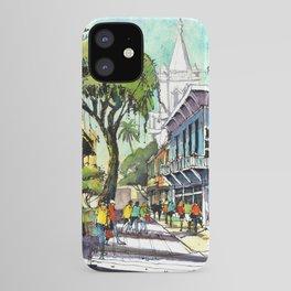 Duval Street, Key West iPhone Case