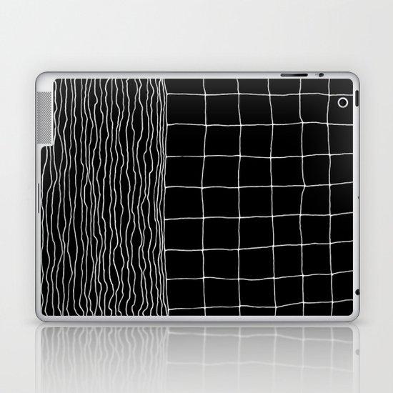 Hand Drawn Grid Laptop & iPad Skin