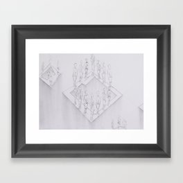 Whiteout II Framed Art Print