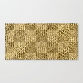 Basket Weaving Canvas Print