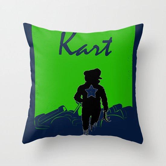 Kart Throw Pillow