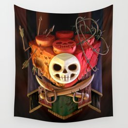 The Dread Two-By-Two Wall Tapestry