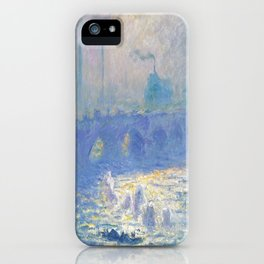 Claude Monet's Waterloo Bridge iPhone Case