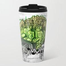 mr. & mrs. muppet Metal Travel Mug
