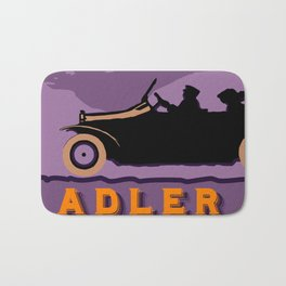 Adler autos 1913 Bath Mat