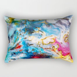Abstract Melt VII Rectangular Pillow