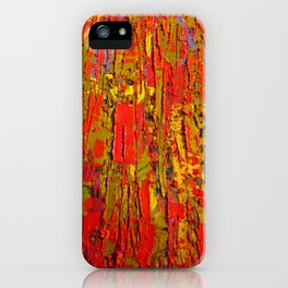 Up Close & Personal with Red Townscape II, #1 iPhone Case