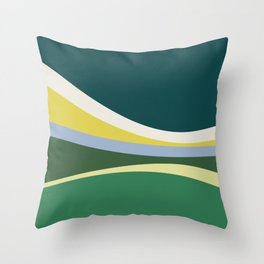 july meadow Throw Pillow