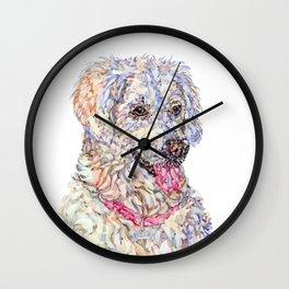Golden Retriever - Bella Wall Clock