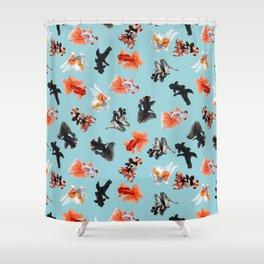 Goldfish Bowl Shower Curtain