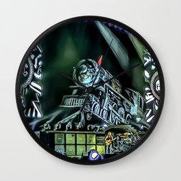 Runaway Train - Graphic 4 Wall Clock