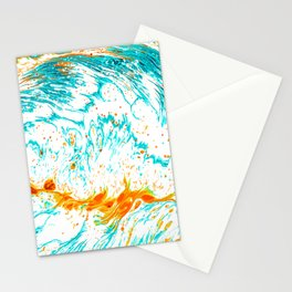 Waves of Thought #abtsract #painting Stationery Cards