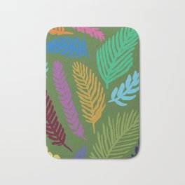 Palm Camo Bath Mat