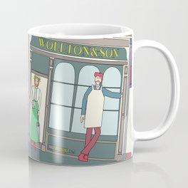 Steampunk Penny-Farthing Velocipedes Coffee Mug