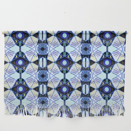 All seeing eye & mystical moons to protect you. Wall Hanging