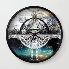 TwoWorldsofDesign Wall Clock