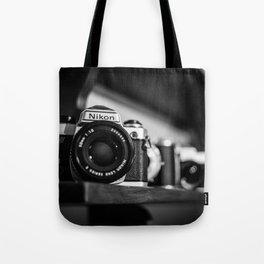 Camera History Tote Bag