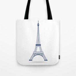 Eiffel Tower Paris Symbol Tote Bag