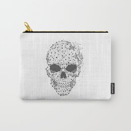 Super cool Skull Molecules Carry-All Pouch