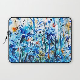 thickets of cornflowers Laptop Sleeve
