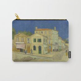 The Yellow House by Vincent van Gogh Carry-All Pouch