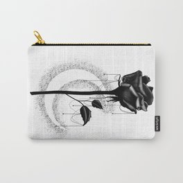Black rose drips Carry-All Pouch