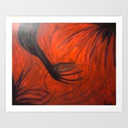 hand-eye Art Print