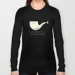 Pipe Whale Long Sleeve T-shirt
