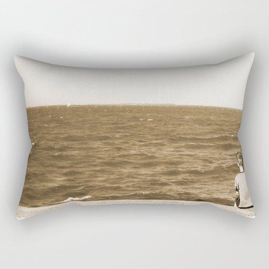 All By Myself Rectangular Pillow