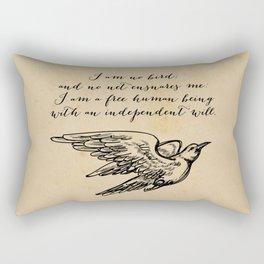 Jane Eyre - No bird - Bronte Rectangular Pillow