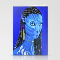 avatar Stationery Cards featuring Avatar by maggs326