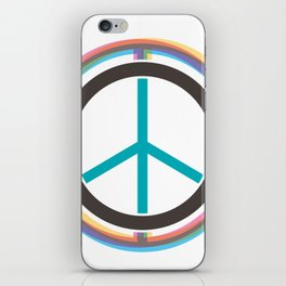 Finding The Peace From Our Heart iPhone Skin