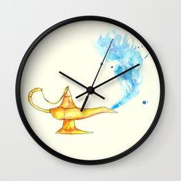Genie Lamp Wall Clock