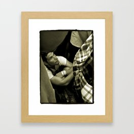 Jammed at Lollapalooza Framed Art Print