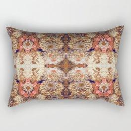 Autumn woodland forest fairy print Rectangular Pillow