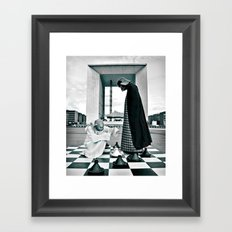 Game Over Framed Art Print