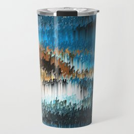 Blue Forest Shades Travel Mug