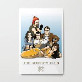 The Serenity Club Metal Print