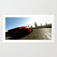 Aventador In Prague Art Print
