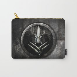 Rustic Metal samurai shredder Mask iPhone 4 4s 5 5c 6, pillow case, mugs and tshirt Carry-All Pouch