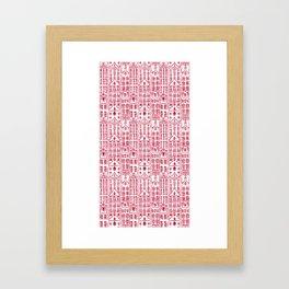 AMSTERDAM RED Framed Art Print
