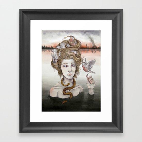 The Last Gorgon Framed Art Print