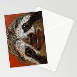 Sloth Stationery Cards